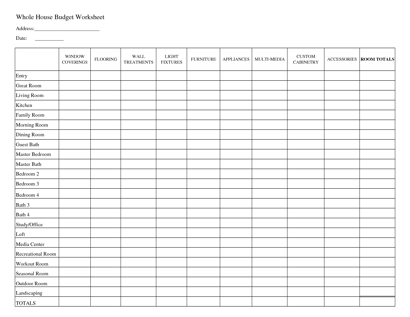student loan budget spreadsheet