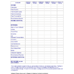 student loan budget worksheet