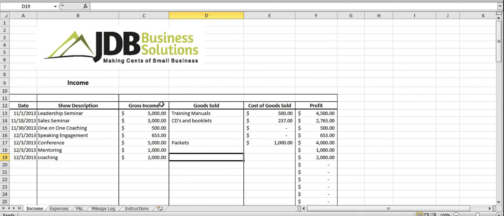 Tax template for small business natural buff dog tax spreadsheet template for business flashek Gallery