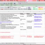 wedding cost planner spreadsheet