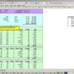 Building Construction Estimate Spreadsheet Excel Download Free Templates
