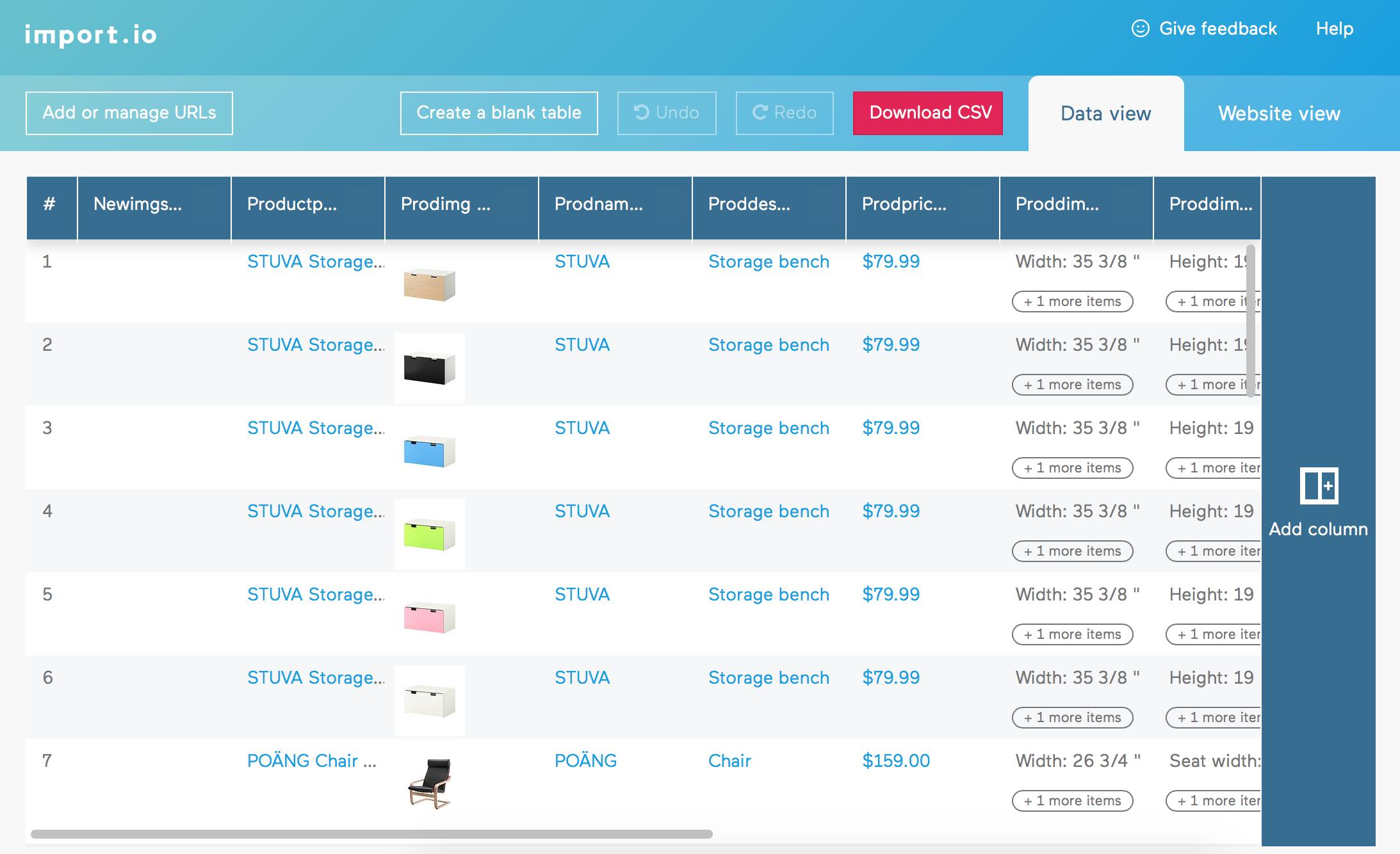 Common Spreadsheet Programs