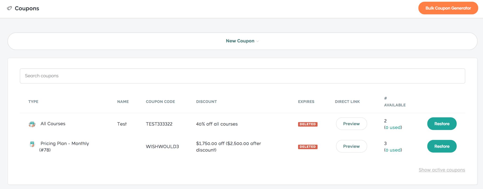 Coupon Spreadsheet App free templates download