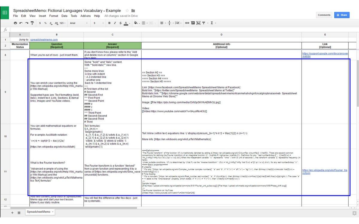 Free Chrome Spreadsheet templates