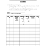 blood pressure record template