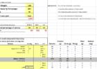 calorie counter spreadsheet templates
