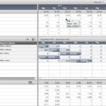 capacity planning template in excel spreadsheet Free