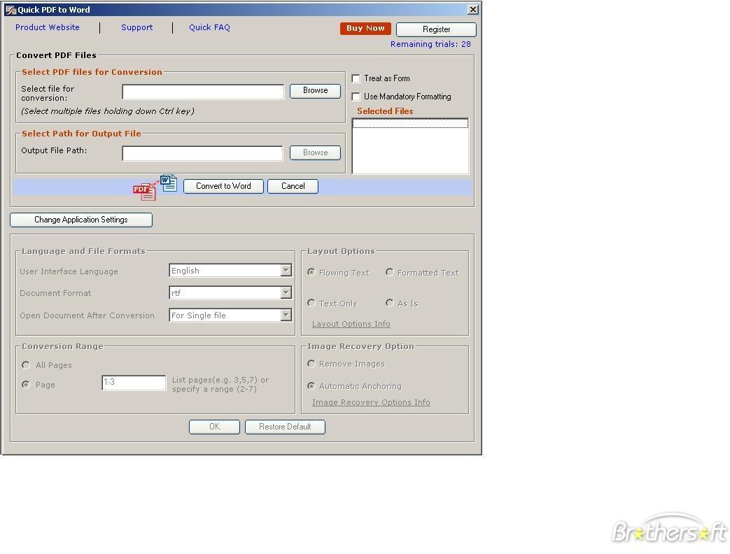 convert pdf to excel freeware