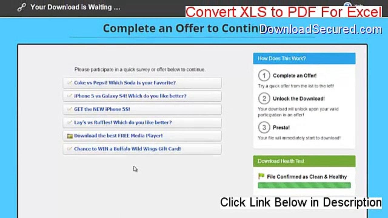 convert pdf to xlsx online free