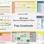 free resource capacity planning template in excel spreadsheet