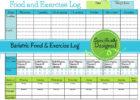 free weight loss tracker spreadsheet template
