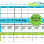 free weight loss tracker spreadsheet template