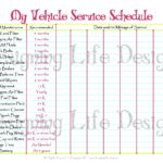 vehicle maintenance spreadsheet template
