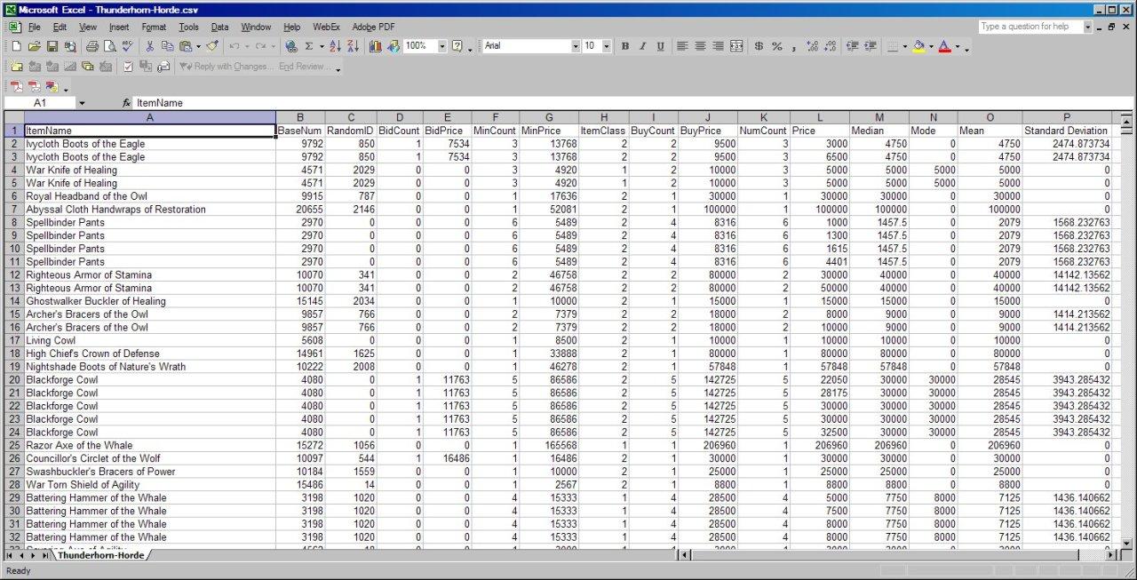 xcel spreadsheet free download