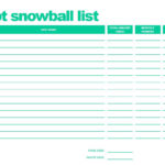 debt snowball spreadsheet google docs