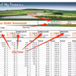 debt to income excel spreadsheet