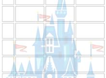 disney world itinerary planner template