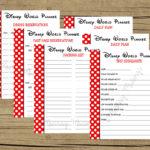 disney world planning guide spreadsheet