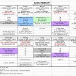 disney world spreadsheet 2017