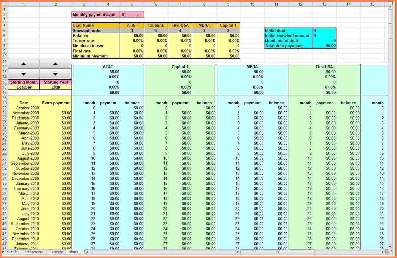 download debt tracker spreadsheet