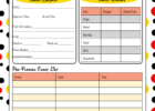 free Disney world planner template
