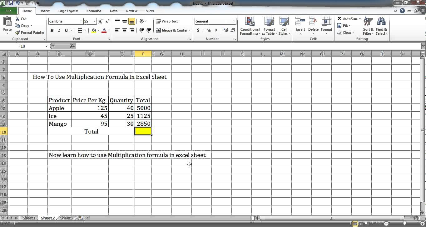 microsoft excel formula list pdf