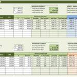 paying off debt spreadsheet free