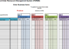 excel template for stock management