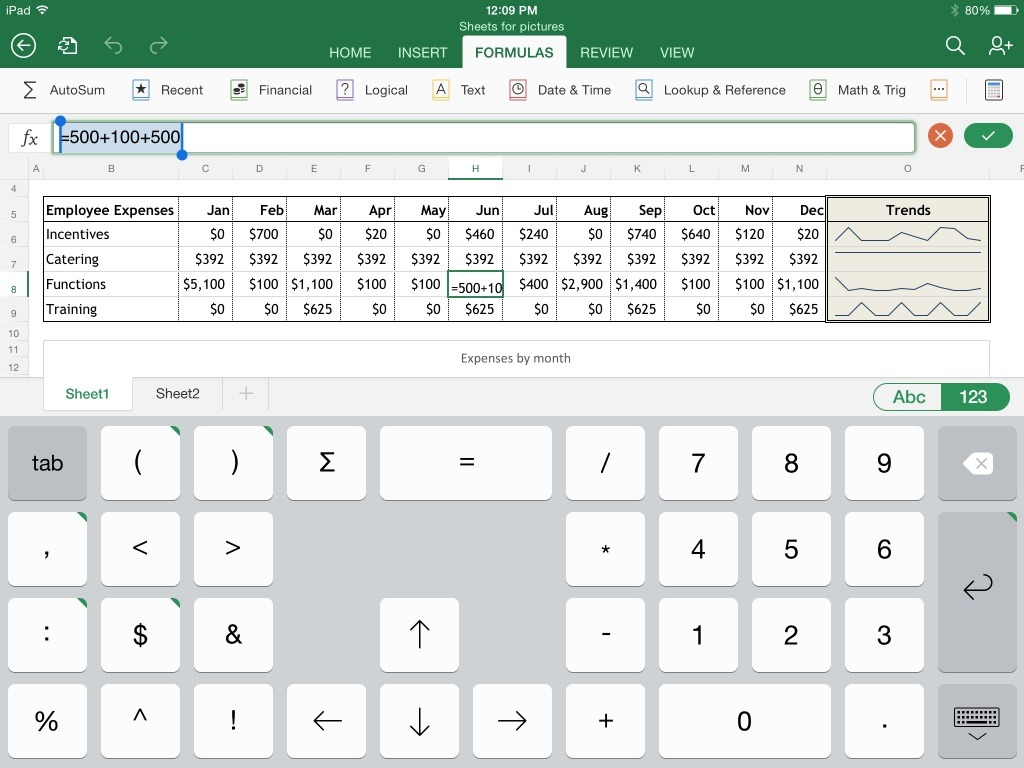 best free spreadsheet app for android tablet