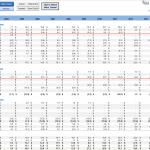 financial statement analysis excel sheet