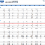 financial statement analysis excel sheet