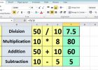 formulas for spreadsheets on excel