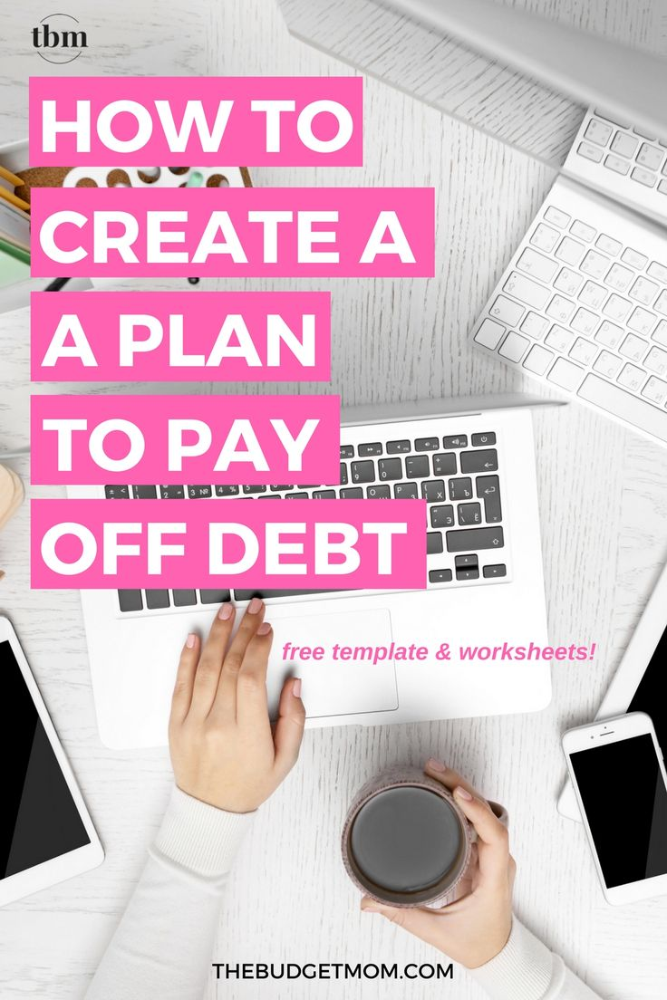 free get out of debt worksheet