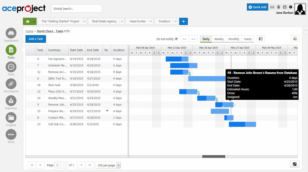 create gantt chart in google spreadsheet