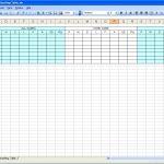 free golf stats sheets