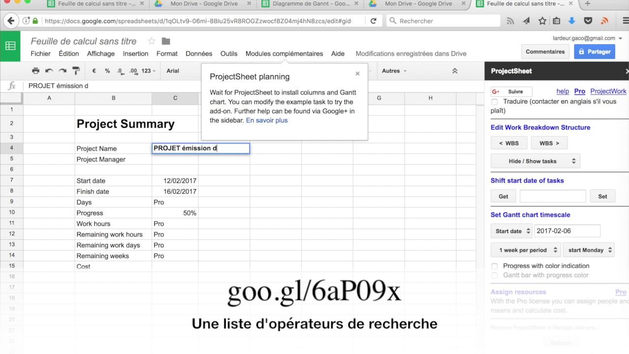 free google spreadsheet gantt chart templates