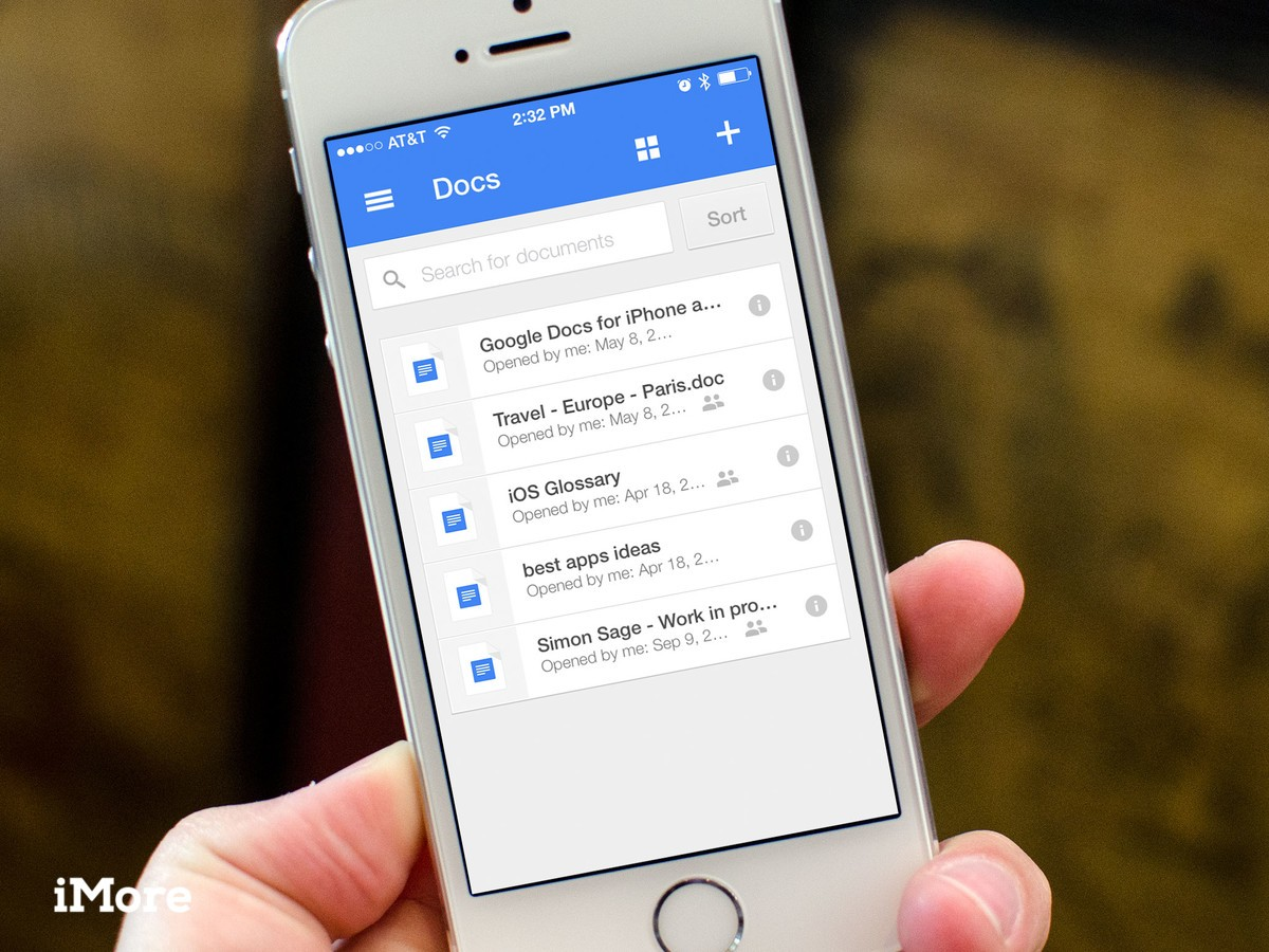 free templates google docs on iphone