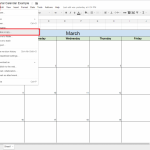 google docs spreadsheet drop down list