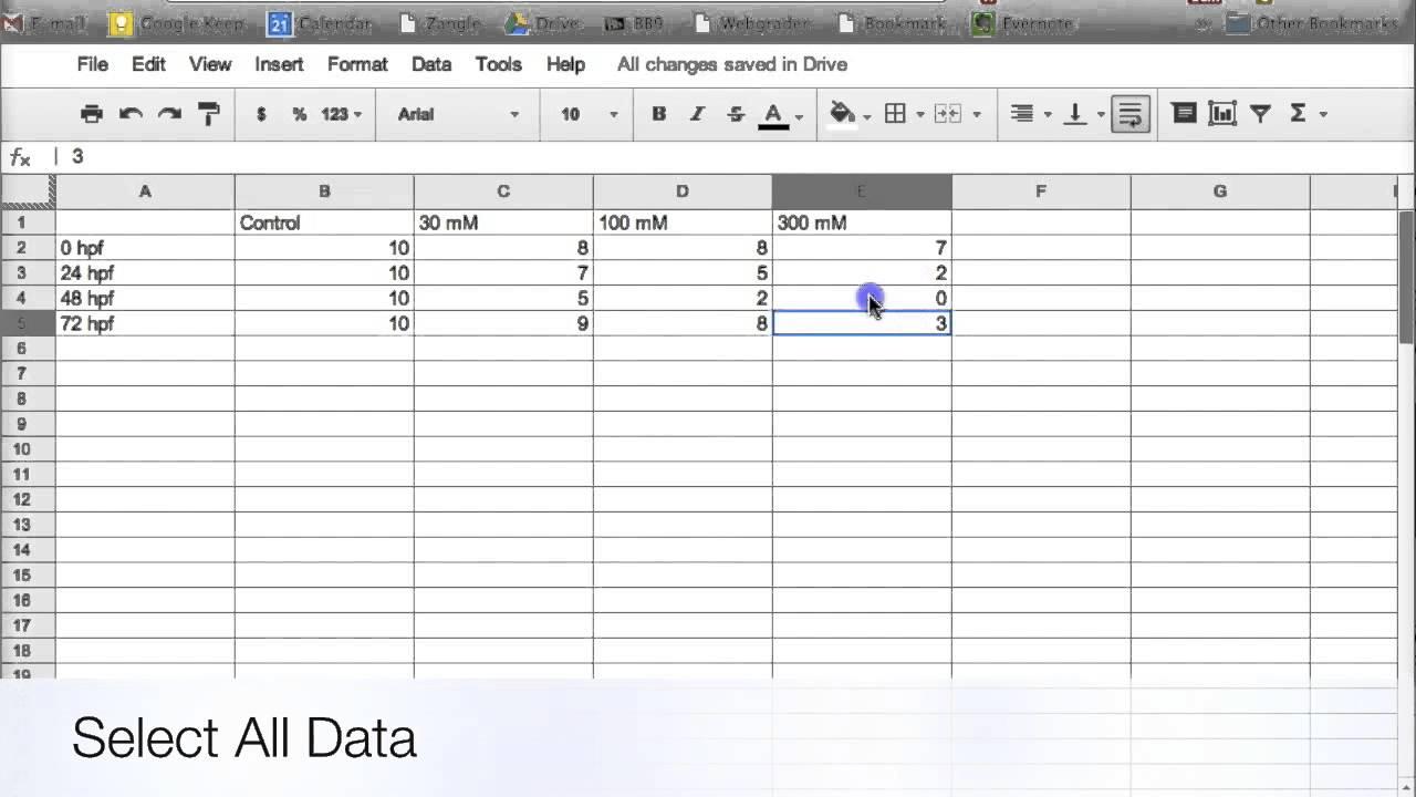 google docs spreadsheet tutorial free