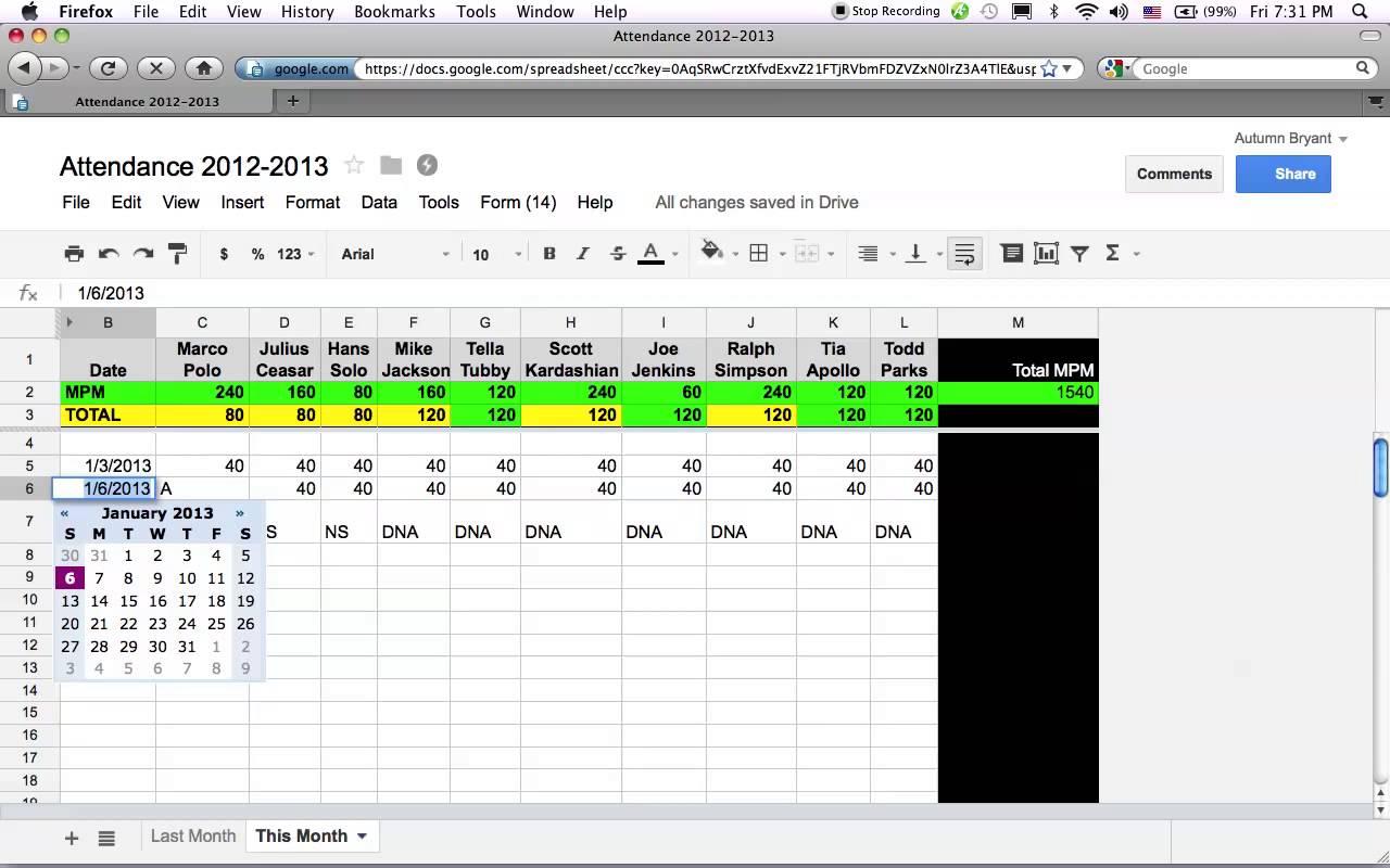 google sheets tutorial pdf