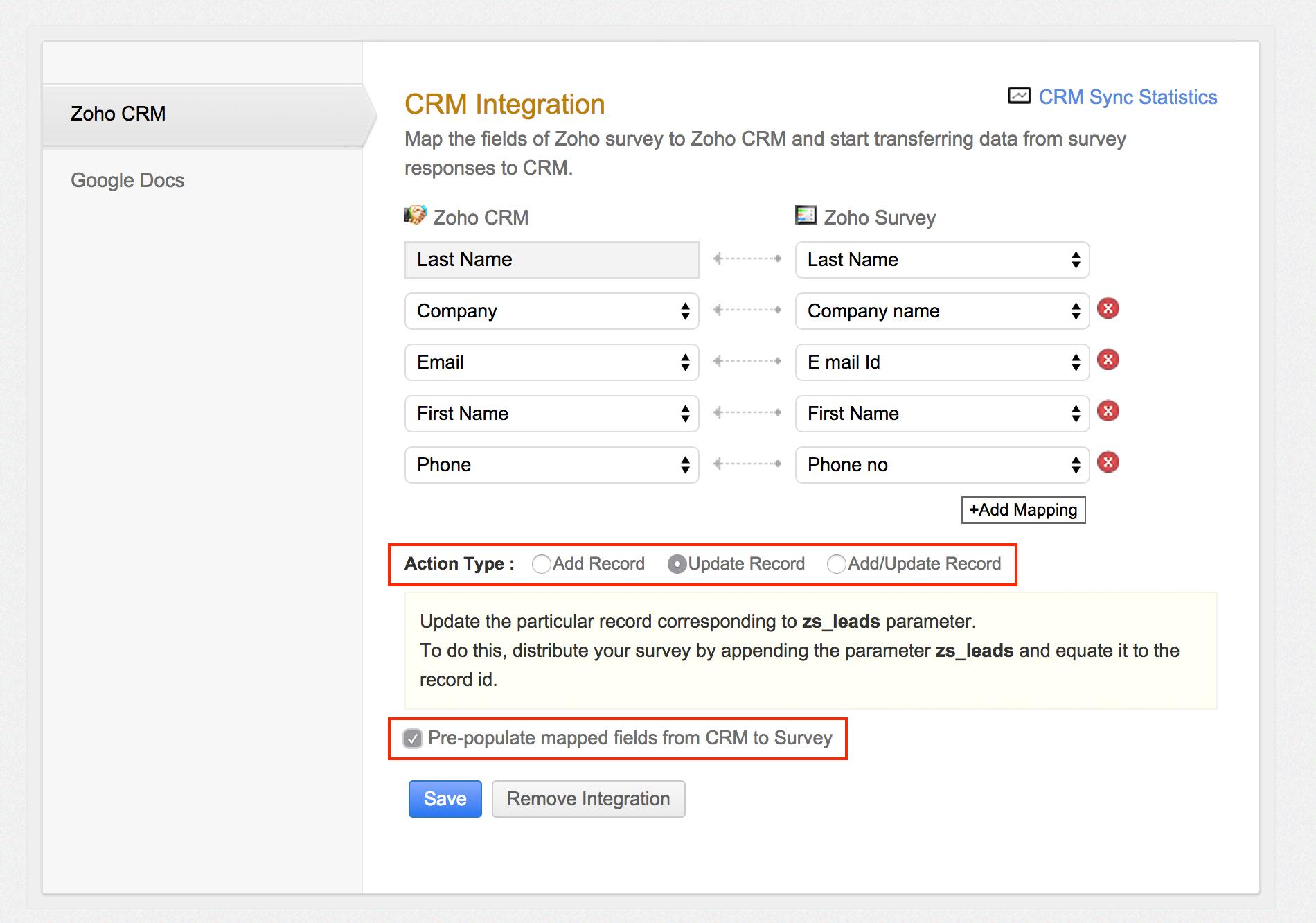 google spreadsheet crm free