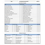 Hotel Linen Inventory Spreadsheet Templates