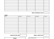 free housekeeping inventory format