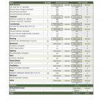 free templates house cost estimator spreadsheet