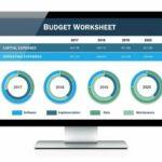 monthly budget worksheet apple