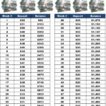 personal savings plan worksheet