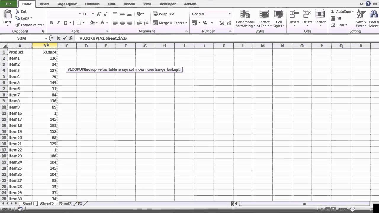 Compare Excel Spreadsheets 2010