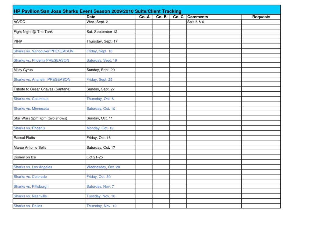 Customer Relationship Management Excel Template