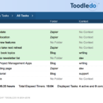 Employee Task Management Excel Template
