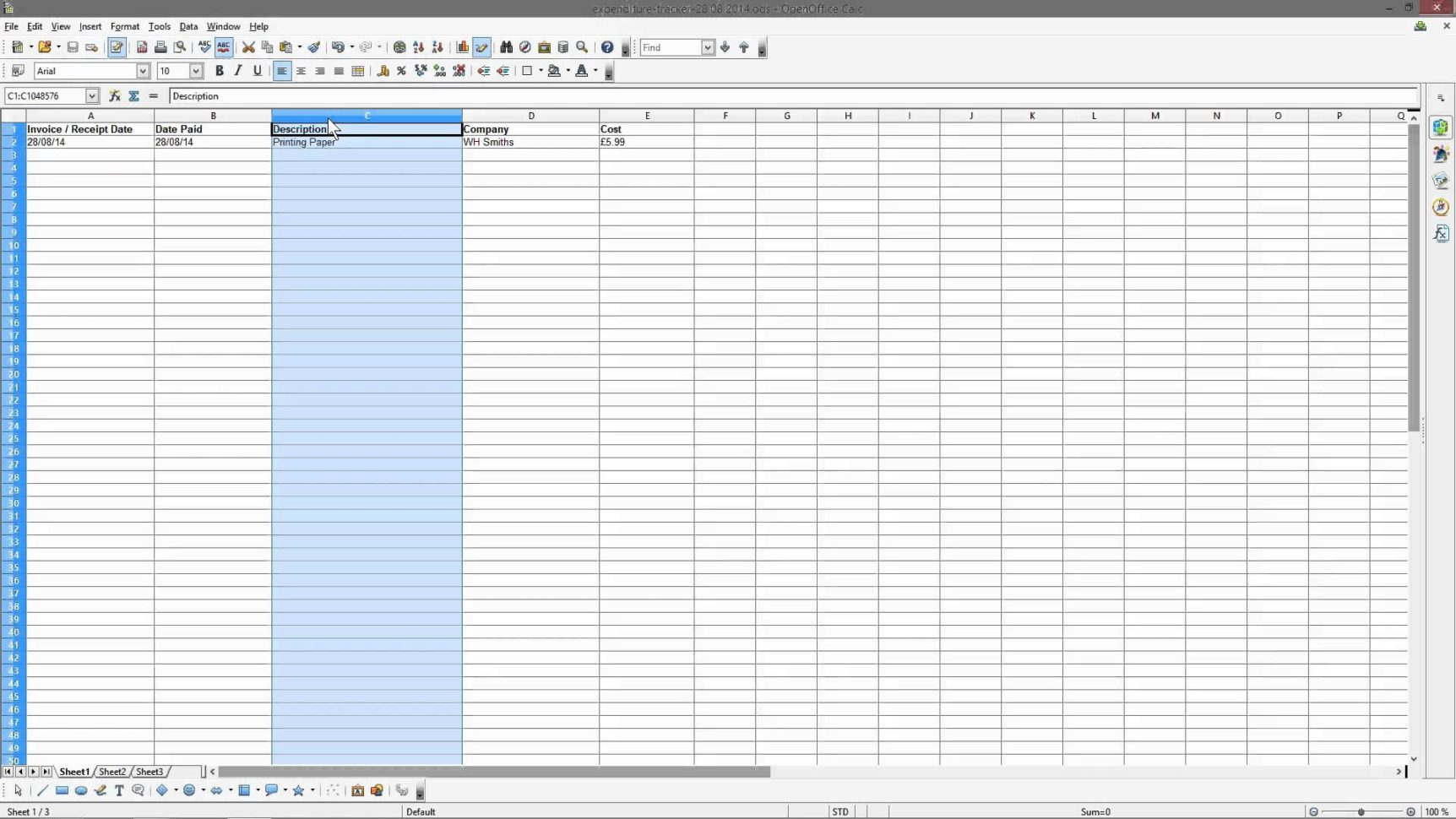 Excel Accounting For Small Business